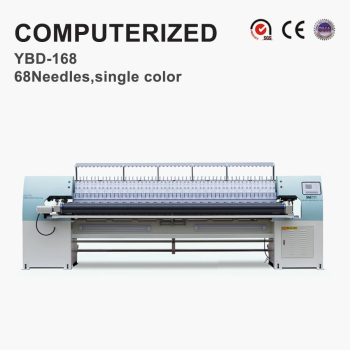 YBD168 High-efficiency quilting embroidery machine (Automatic needle run-up)