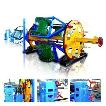 China supplier cradle type cable laying-up machine