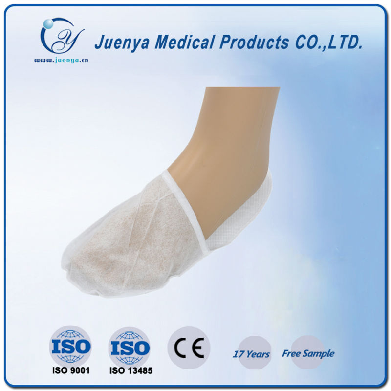 disposable non woven spa clean paper slippers