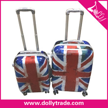 Nice PC Material UK 2 Piece Trolley Luggage Set PC Luggage