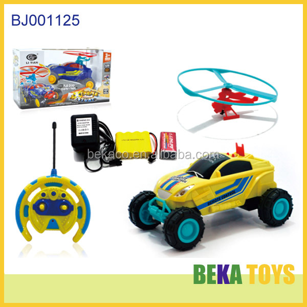 Best selling christmas toy for kids rc space car b/o cartoon toy car