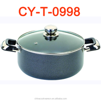 commercial painted induction big casserole cooking pots cooker