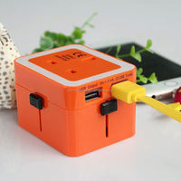 2014 top sale high quality world travel adapter science gifts for adults 2013