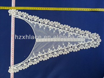 Hot sale chemical cotton neck lace fabric for clothing
