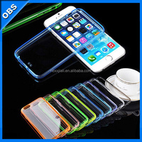 TPU transparent ultrathin mobile phone case for iphone6 6s(OBS-PG5-6029)