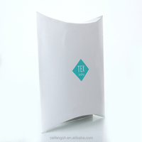 Paper custom print pillow box with OEM logo