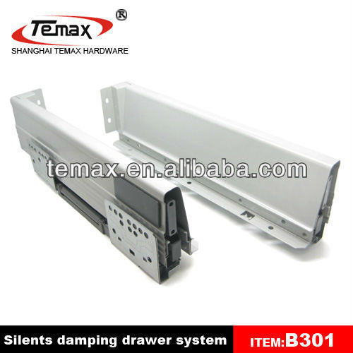 Temax kitchen cabinet soft closing drawer slide