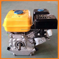 168F Gasoline Pertrol Generator Engine 5.5hp GX160 Electric Start With Tank Air Cooled