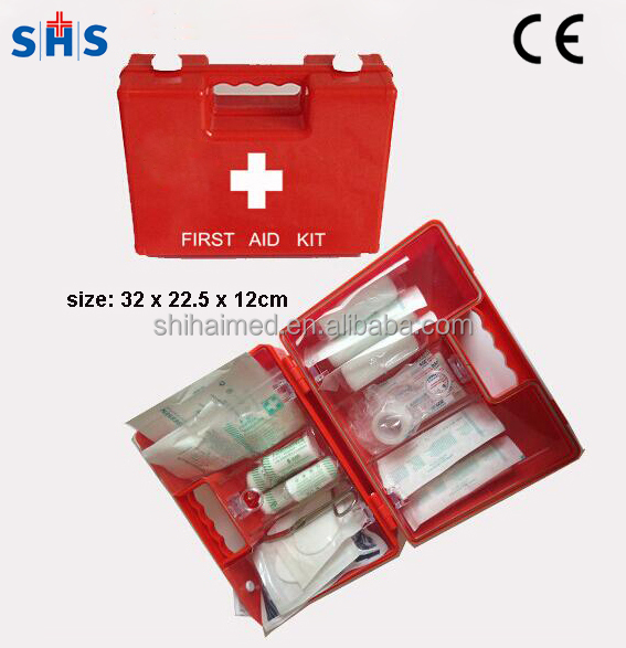 Durable ABS first aid kit for emergency