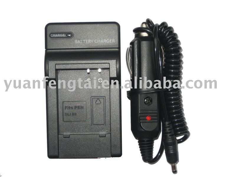 Digital Camera Battery Charger for PENTAX D-LI88