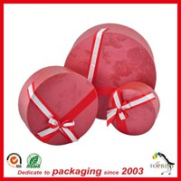 wholesale round hat paper box round hat boxes paper set
