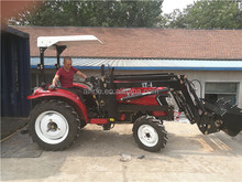 Alibaba wholesale reliable quality 50hp 4wd farm tractor with 4 in 1 loader