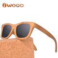 100% Inspection Low MOQ Free Logo Popular Cheap Bamboo Sunglasses with Your Logo