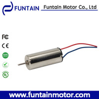 4-10mm diameter coreless dc motor for toys airplane ,Funtain 716-Q