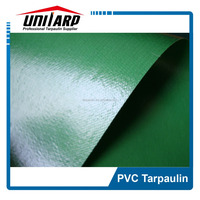 FR PVC Knife Coated Green Tent Tarpaulins for Army