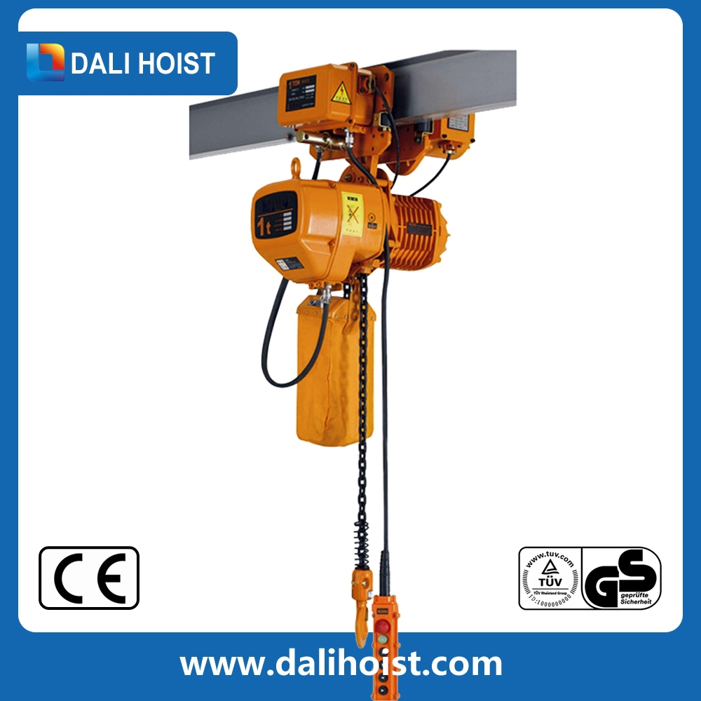 Electric Chain Hoist With Trolley /5 ton chain pulley block