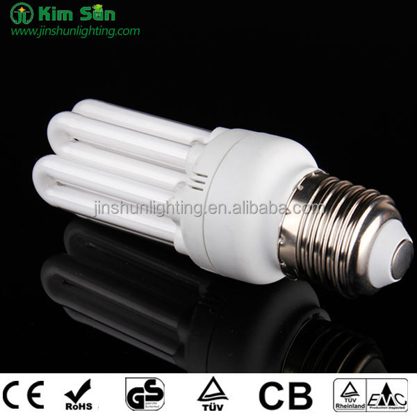 Factory price 4U 28W energy saving lamp in PBT plastic cover