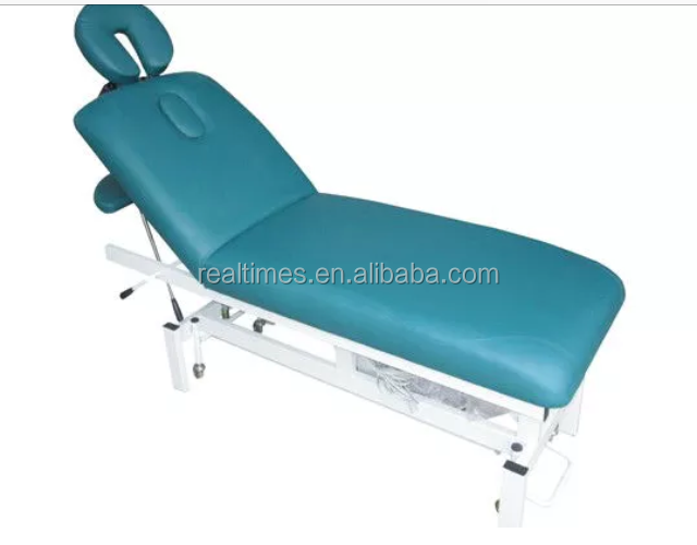 WT-6605b Electric massage bed facial beauty bed for beauty salon
