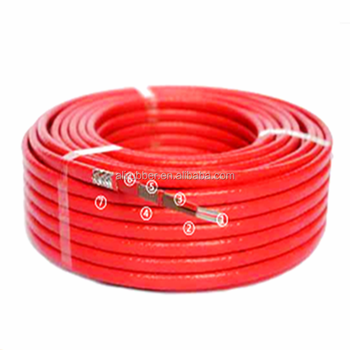 Self-regulating Heating Cable 220v 40w/m 14*5.5mm color red 100C XD-H-D-1241