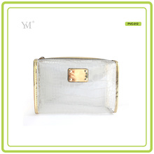 China Wholesale fashion women cosmetic bag wholesale pvc bag