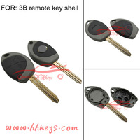 Remote Key Shell fit for TOYOTA Yaris Avensis 3 Button Case Fob