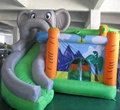 Outdoor inflatable elephant bouncy castle for kids