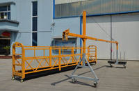 steel working platform lifting cradle construction platform