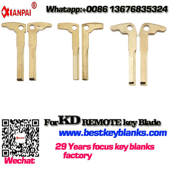 YST-101 Wholesale Metal Blank Car Uncut Flip KD Remote Key Blade suppliers