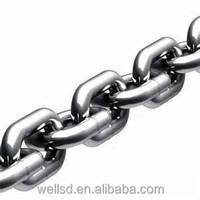 DIN766 short link stainless steel chain, 12mm diameter, strong breaking load