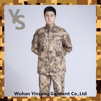 [Wuhan YinSong] CVC T/C fabric camouflage fabric printed with Desert python