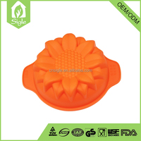 OED service product nonstick cookware sunflower cooking tool silicone baking cake moulds