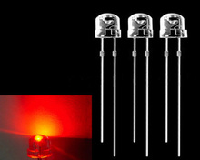 white red yellow green blue 5mm straw hat led LED diode for led bulb