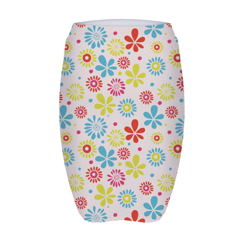 2018 Colorful printing pencil tight sexy short skirt for women in stock
