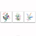 Watercolor Flower Painting Prints Home Wall Decor HD Flowers and Plants Picture Canvas Printing