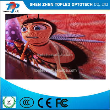 6mm 3d led screen indoor for video and advertising application
