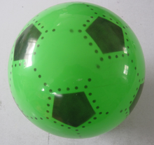 Cheap inflatable plastic promotional custom football/soccer