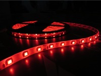 Ultra bright daylight outdoors IP65/IP68 5050 SMD multicolor 5Meter led flexible strip 12V/24V