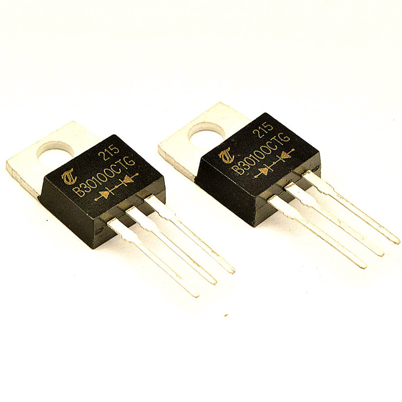 MBR30100CT B30100CTG 30A/100V TO-220 30 Amp HT Power Schottky Barrier Rectifier 100 Volts to 200 Volts