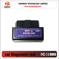 Latest Version Super Mini OBD Scanner ELM327 WIFI OBD2/OBDII Auto Car Diagnostic Scanner Tool ELM 327 WiFi V2.1 For IOS Android