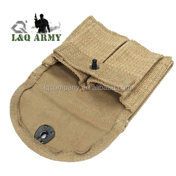 Canvas Double Mag Pouch Built in Belt Loop