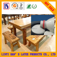 Han's high quality and competition price Water-based White latex glue for furniture