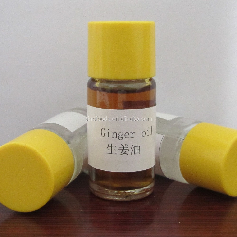 Sheng Jiang Certified 100% Natural and Pure Ginger Herb Oil