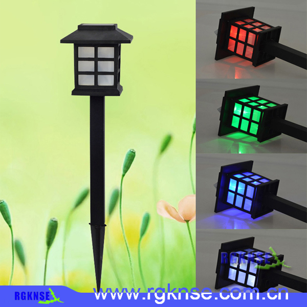 2016 Lawn Garden Lights Modern Solar Lawn Lamp LED Light Pathway