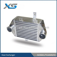 bar and plate motorcycle intercooler