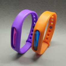 Popular Products Colourful Waterproof Citronella Mosquito Repellent Bracelet