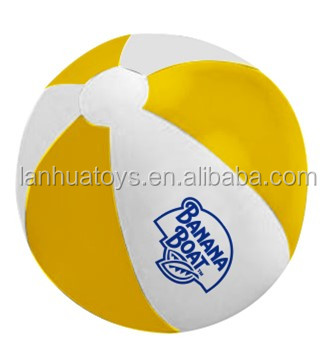 ICTI factory inflatable 16inch beach ball
