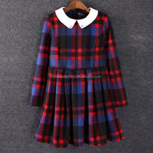 monroo 2014 stylish vintage beaded check official dresses for women