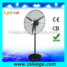 2018 Hot sale big power 20 26 30 inch electric heavy duty industrial stand fan