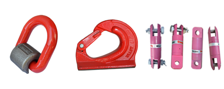 alloy steel swivel hoist ring for wire rope