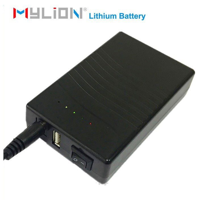 Power supply 18650 2500mah rechargeable lithium ion 12v battery pack